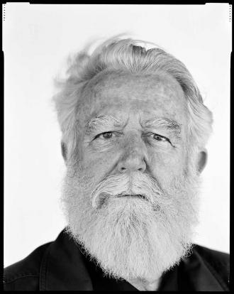 Schwarz-weiß Porträt