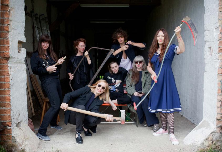 Gruppenbild der Frauenband
