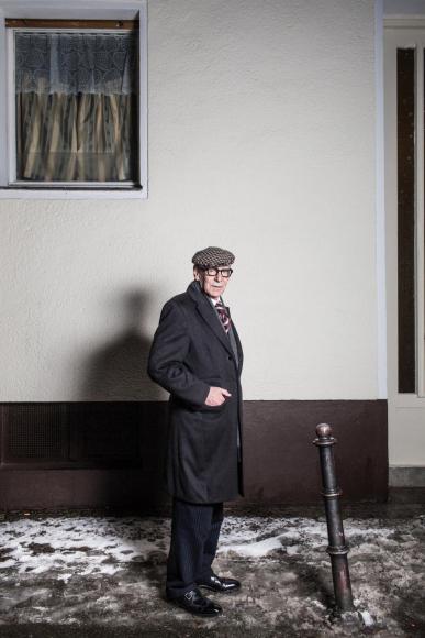 Der Fotograf Efraim Habermann