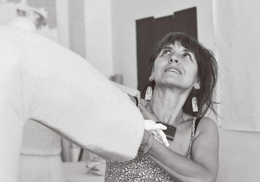Portrait der Künstlerin Miss Lata