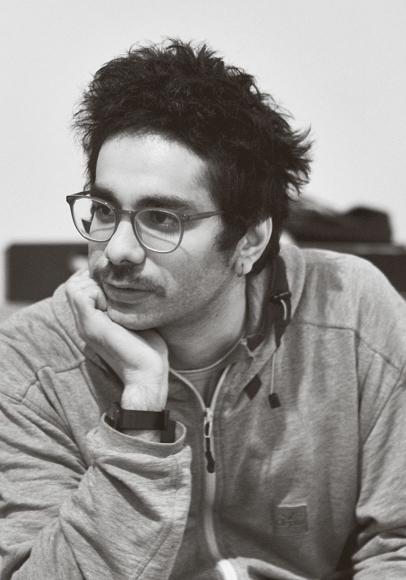 Portrait des Künstlers Nidal Jalouk
