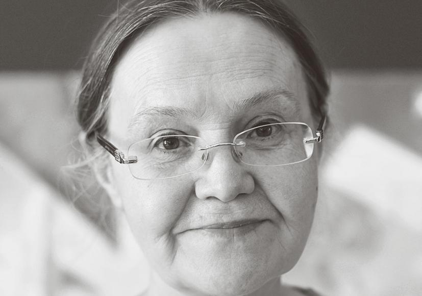 Portrait der Künstlerin Nouria Khadeeva