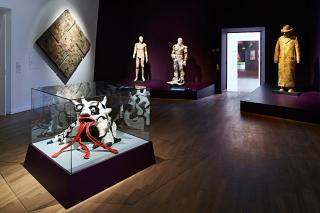 Ausstellungsansicht der Golem-Ausstellung