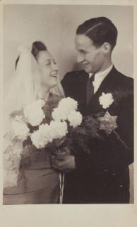 Hochzeitsfoto von Sabine Smuk und Rolf Veit Simon
