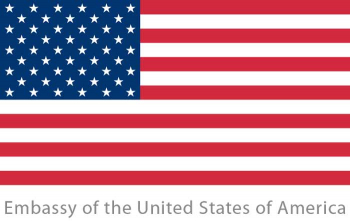 Logo: Embassy of the United States of America