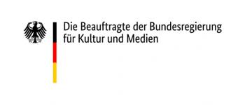 Logo der der Beauftragten der Bundesregierung für Kultur und Medien