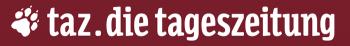 Logo: taz.die tageszeitung
