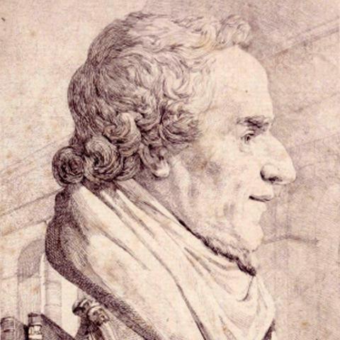 Porträt von Moses Mendelssohn