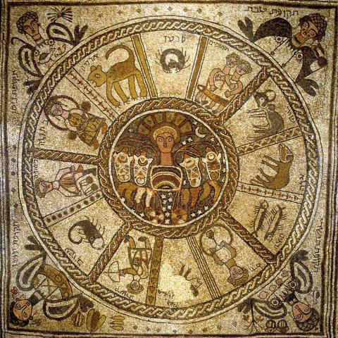 Tierkreis (Mosaikfusßboden)