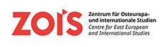 Logo in schwarz und rot mit dem Schriftzug: ZOiS Zentrum für Osteuropa- und internationale Studien